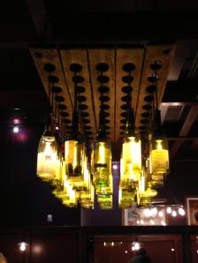 Wine Bottle chandelier, I want to make this!
