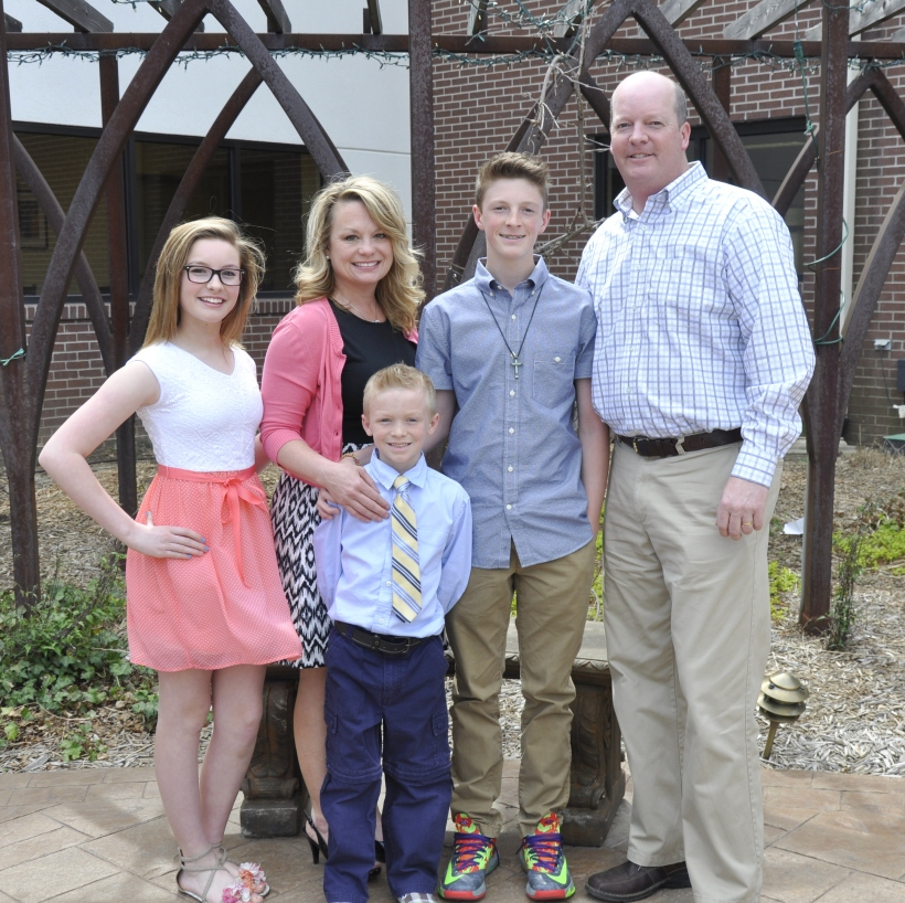 Woods Fam at Easter