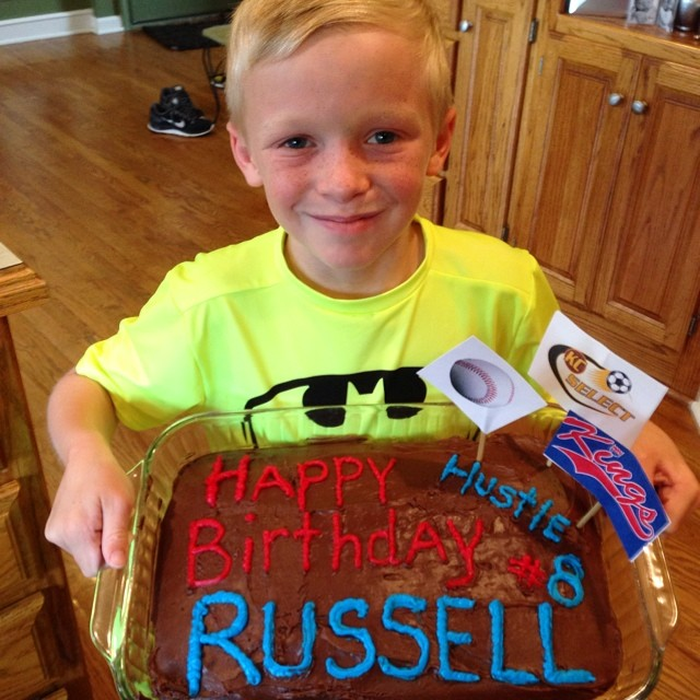 BIG RUSSELL turns 8!