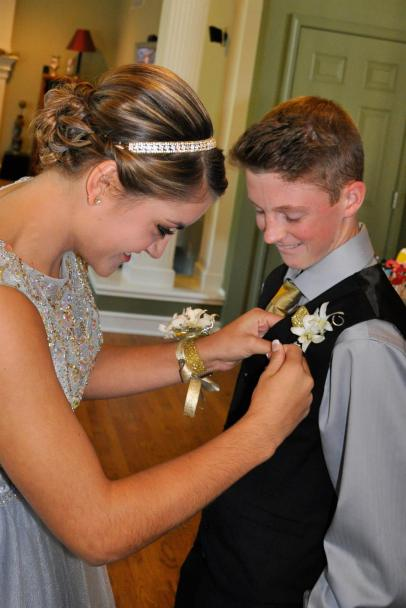 The first corsage
