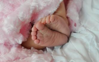 baby C feet