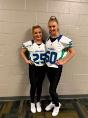 Her bestie from diapers to co-captains of their team