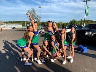 Our amazing 8 seniors
