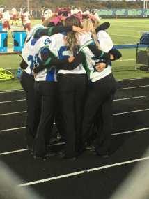 Senior hugs last famll