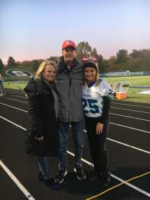 Whit last fball game